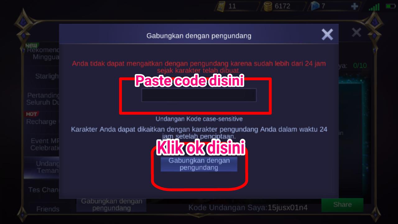 Cara dapat Kode hadiah gratis mobile legend masih work