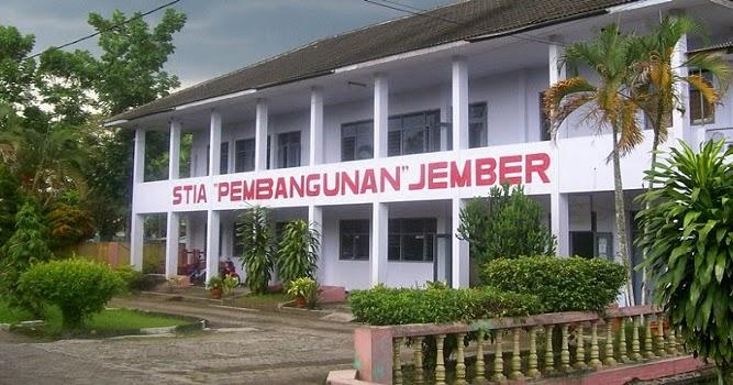 Gedung STIA Pembangunan Jember.