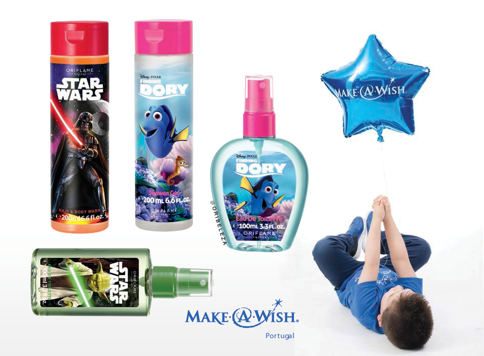 Oriflame Portugal apoia a Make-a-Wish Portugal