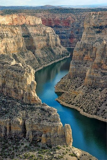 Big Horn Canyon, Wyoming