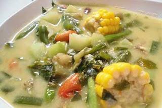 resep cara membuat sayur lodeh enak