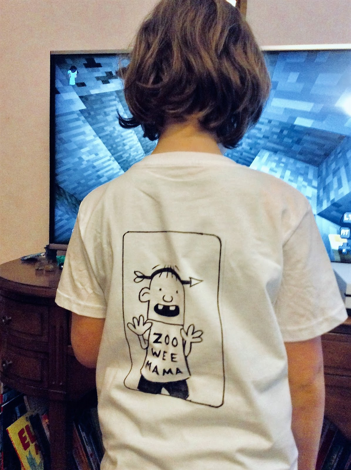 2a059161a Chez Maximka: Diary of a Wimpy Kid costume for World Book Day