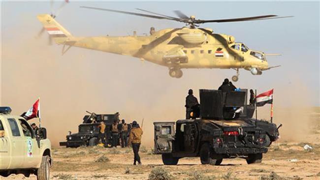 Iraqi military aircraft kill 170 Takfiri Daesh terrorists in Salahuddin