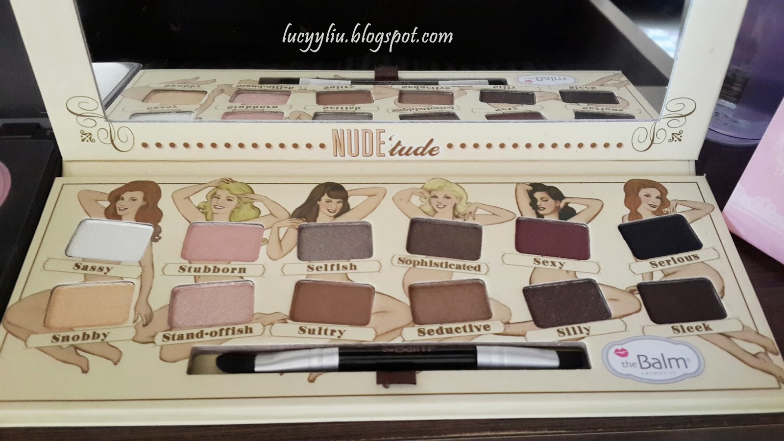Eye Makeup Tutorial with The Balm Nude 'tude Palette