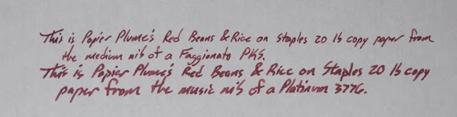 Papier Plume Red Beans & Rice