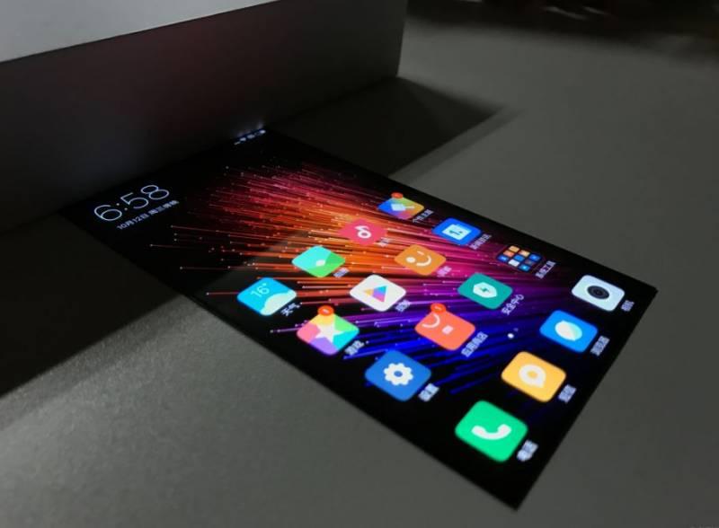 Informasi Teknologi - Xiaomi Layar Fleksibel 1
