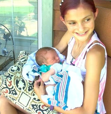 12 year old girl delivers baby brother Mississippi
