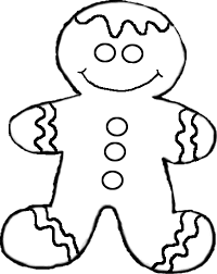 Christmas Cookie Coloring Page 7