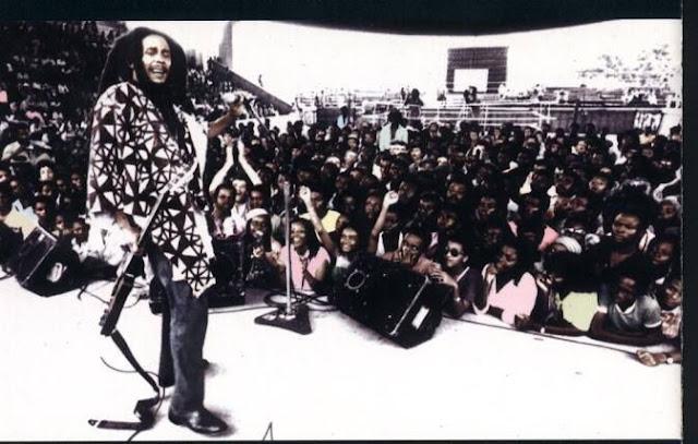 Bob Marley en concert