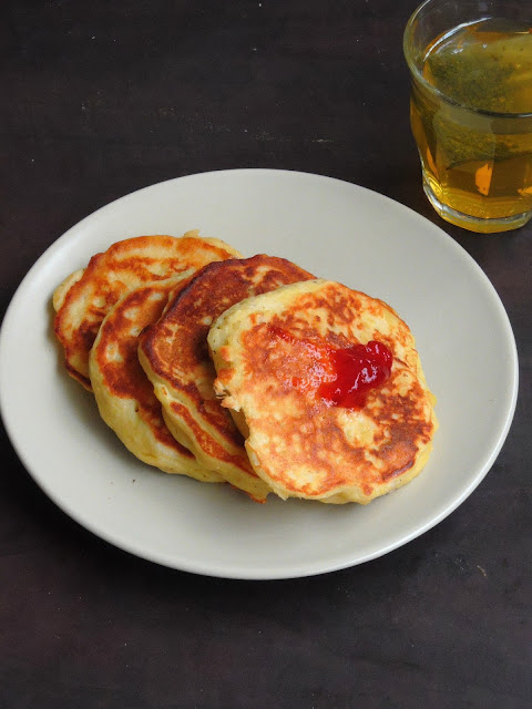 American Mashed Potato Pancakes