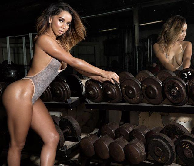 Fitness Model Brittany Renner