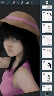 ArtFlow adalah salah satu aplikasi gambar yang lebih mendalam.