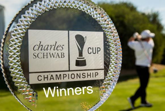 Charles Schwab Cup Championship, Champions, Winners, trophy, History, list.