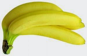 wajah putih bersih dengan masker alami buah pisang