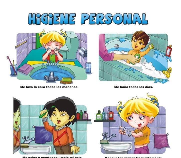 Seamos Personas Bakanes: Higiene Personal en niños
