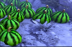Watermelon Trees Winter other mod.