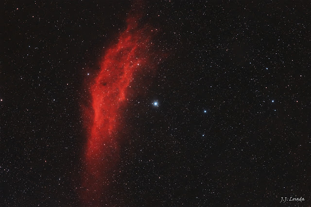 Menchib y Nebulosa de California