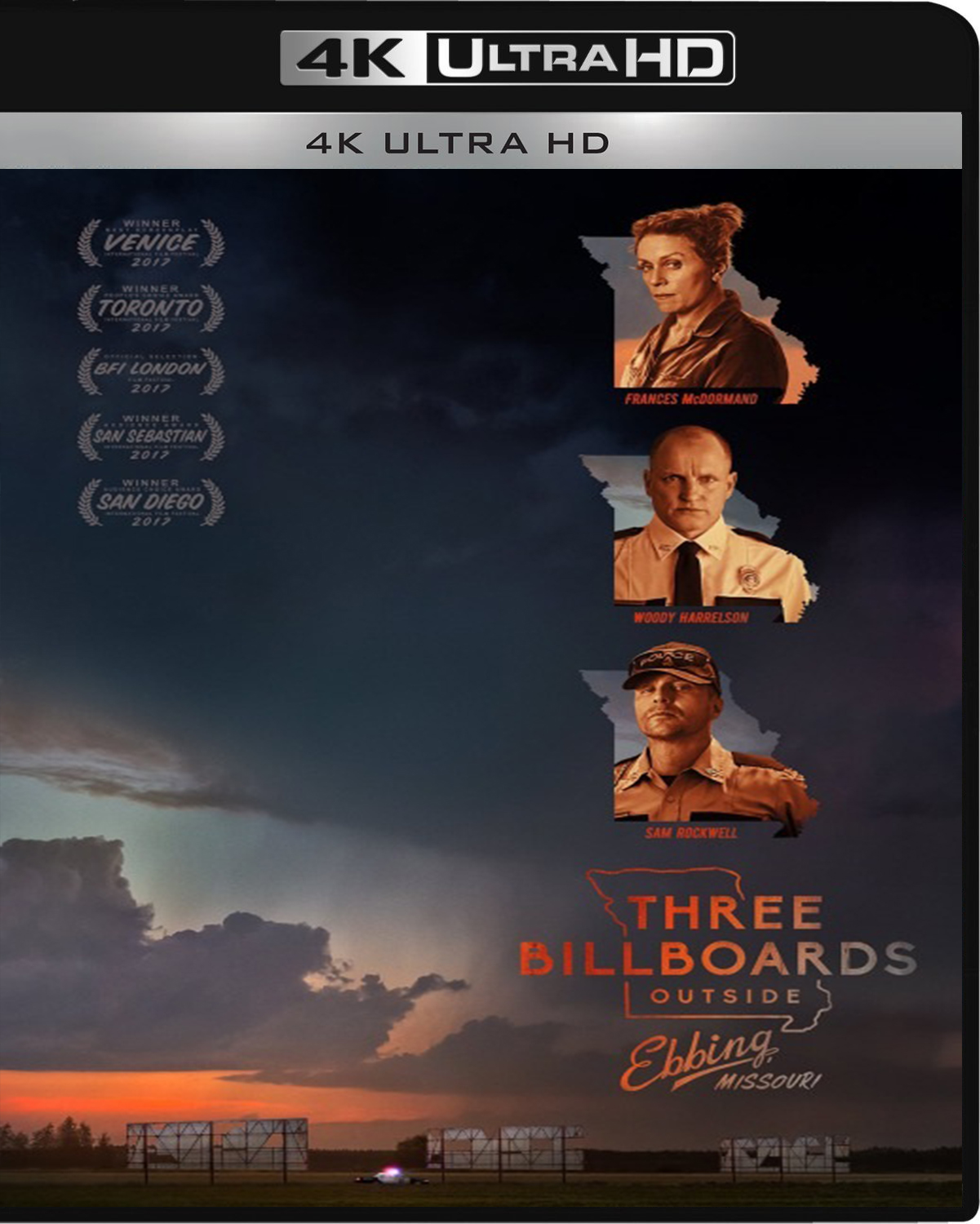 Three Billboards Outside Ebbing, Missouri [2017] [UHD] [2160p] [Latino – Castellano]