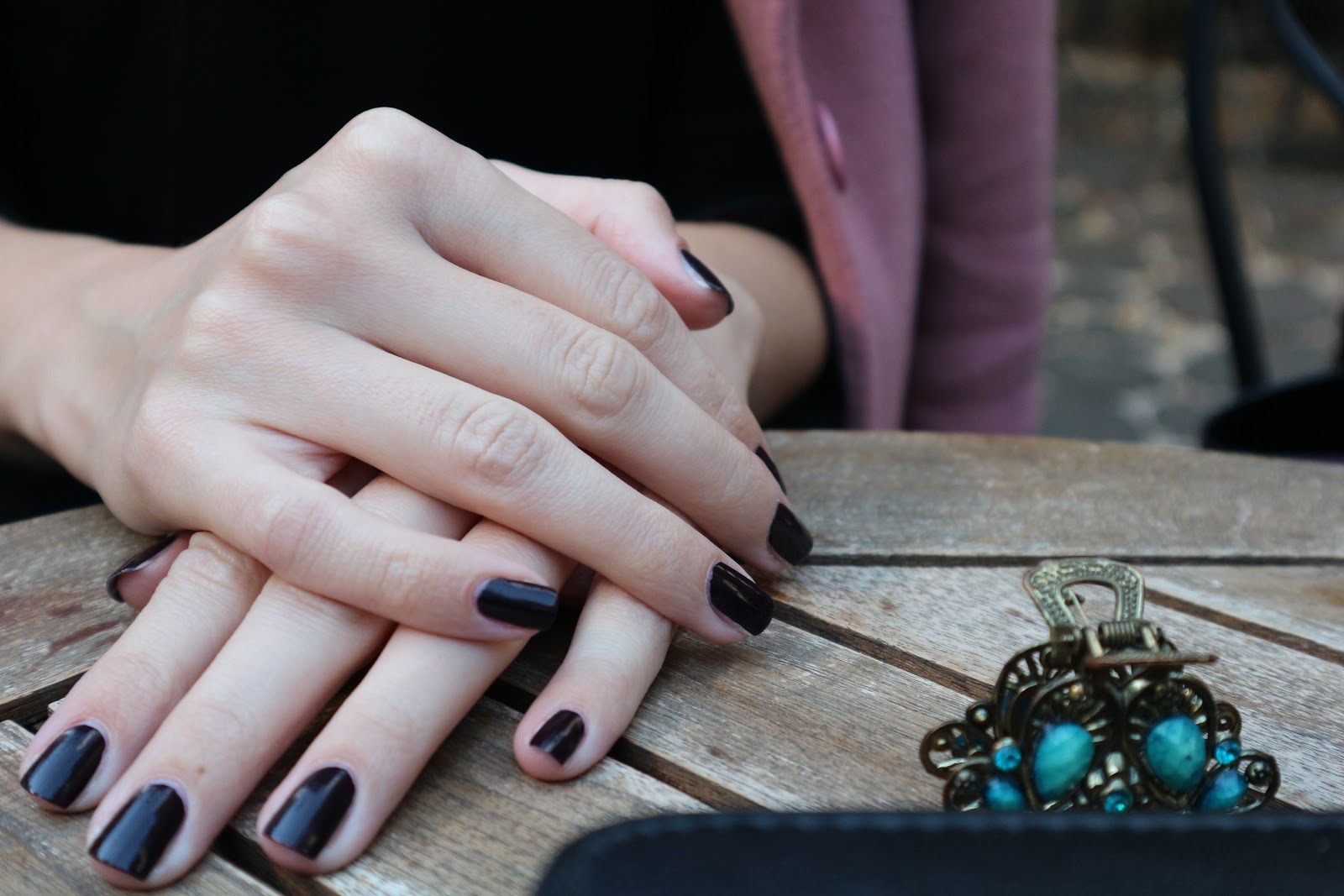 Autumn Nails | Burgundy Vibe