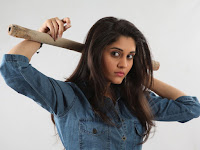 Surabhi Hot Photo Shoot in Mechanic Shed