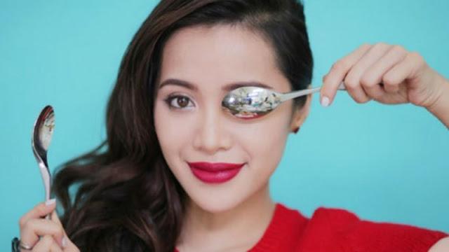 Manfaat sendok untuk kecantikan