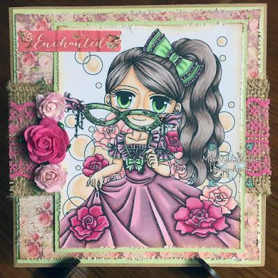Art by Miran Masquerade Mandy