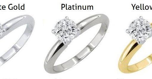 White Gold Vs Platinum Jewelry 2014