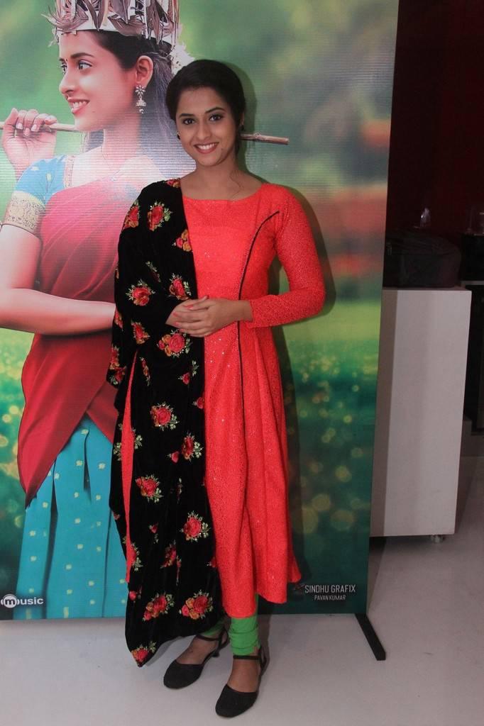 Actress Arthana At Sema Audio Launch Gallery