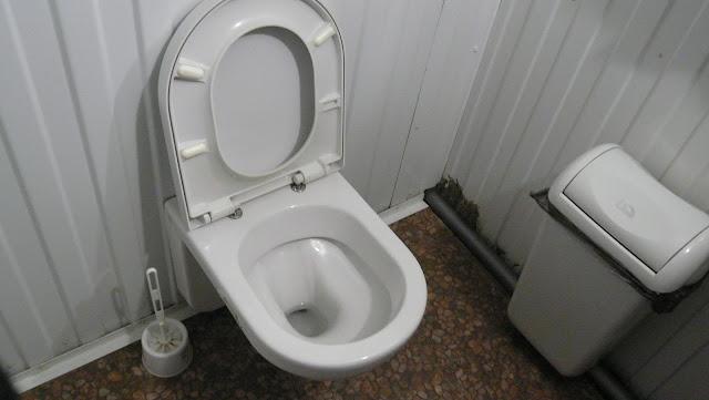 туалет на конечной остановке