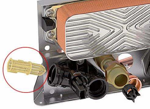 Saunier Duval Duomax Condens bloc hydraulique avec filtre