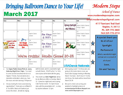 March Happenings at Modern Steps