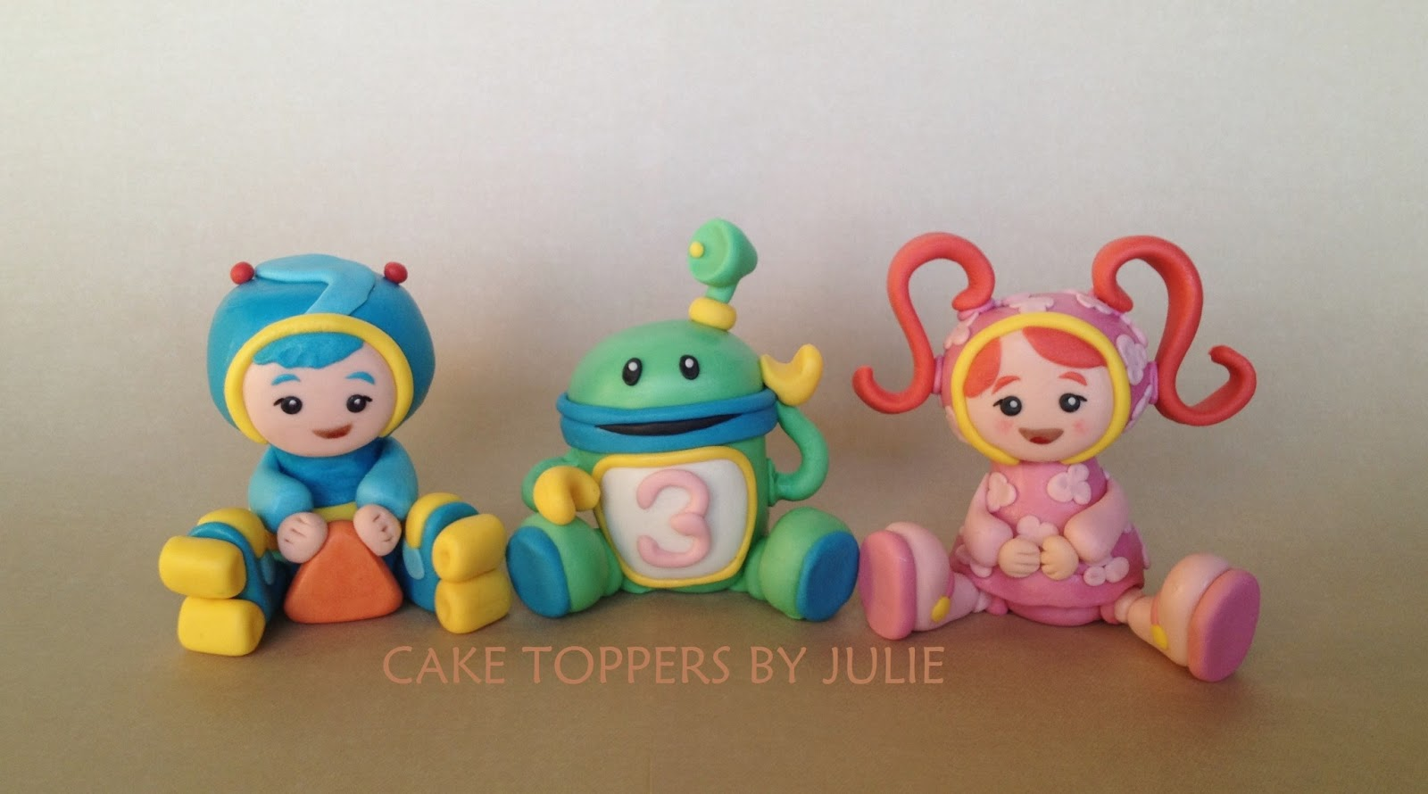 Team Umizoomi Cake Topper Number