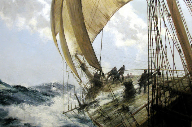 Paintings by Montague Dawson