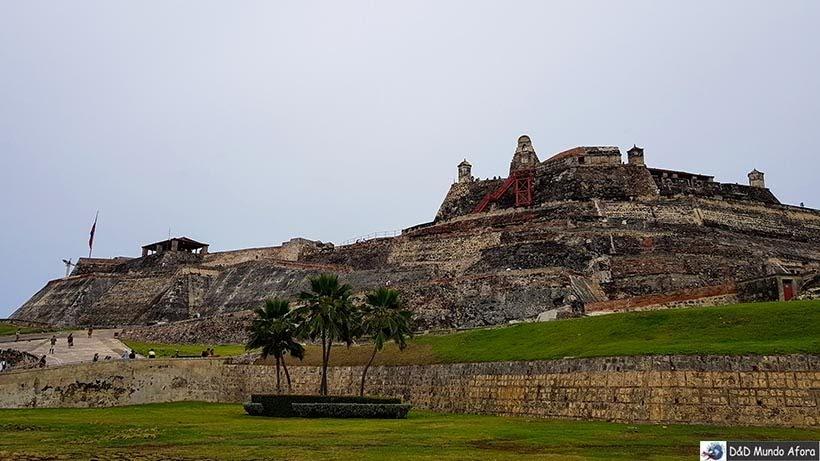 Castelo de San felipe - Roteiro de 4 dias em Cartagena, Colômbia