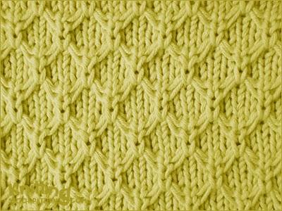 Mock Honeycomb | Knitting Stitch Patterns