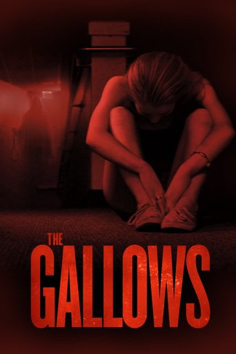 Poster Of The Gallows In Dual Audio Hindi English 300MB Compressed Small Size Pc Movie Free Download Only At worldfree4u.com