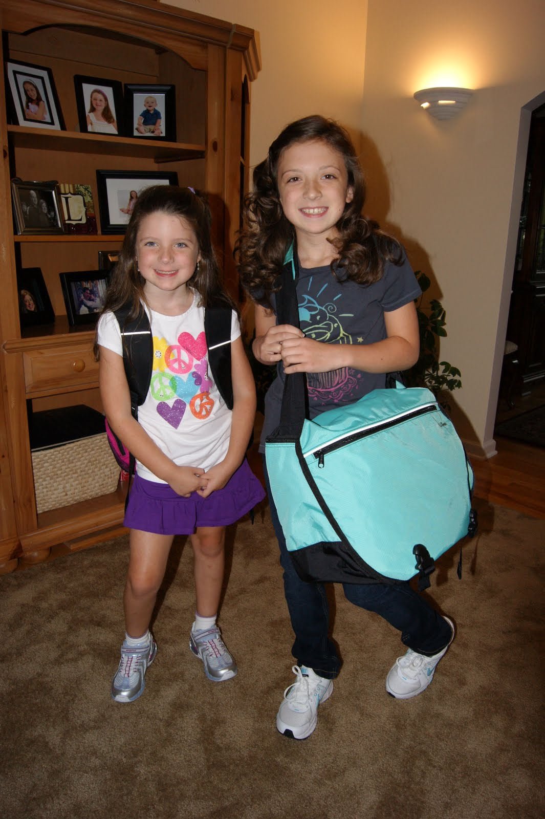 Now We Are Five First Day Of School First And Fifth