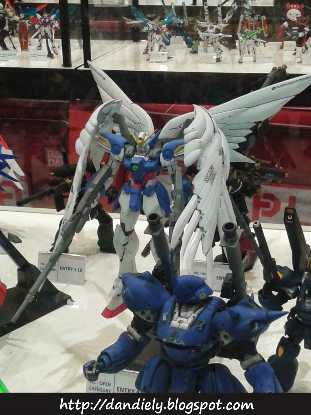 Wing Gundam Zero Custom - Gunpla Entries and Exhibit - Gundam Model Kit Contest 2014 Philippines
