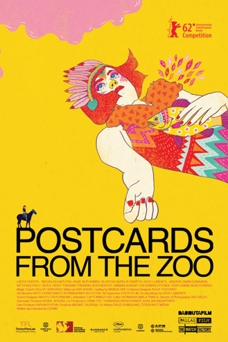 Postcards From The Zoo (2012) DVDRip