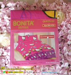 Sprei Bonita Hello Kitty Friends Ukuran 160