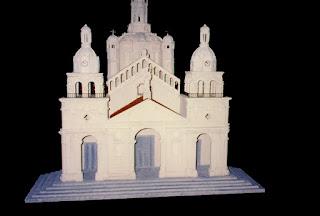 maquetas de edificios, maquetas en telgopor, reproduccion de edificios a escala