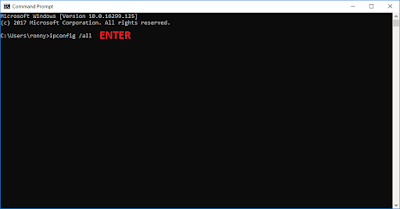 Windows Command Prompt - Windows 10