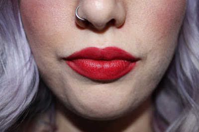 Buxom Wildly Whipped Lightweight Liquid Lipstick in Dominatrix