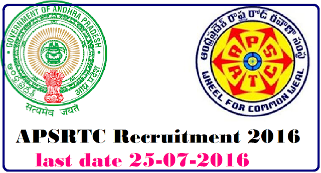 Andhra Pradesh State Road Transport Corporation APSRTC Recruitment 2016|Apsrtc Recruitment 2016/2016/07/andhra-pradesh-state-road-transport-corporation-apsrtc-2016.html