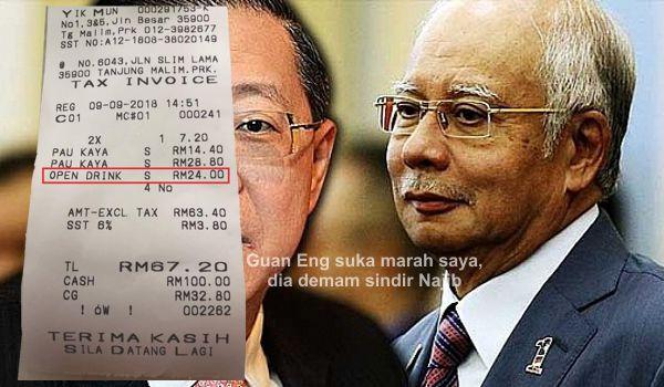 Guan Eng suka marah saya, dia demam sindir Najib