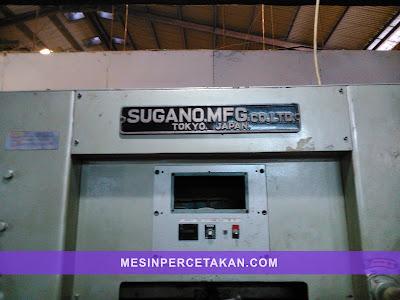 Sugano Automatic Die Cutting Machine