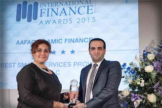 c720159b6 UAE, December 23, 2015 - aafaq Islamic Finance, a leading provider of  Islamic finance products and e-government services in the UAE, received two  eminent ...