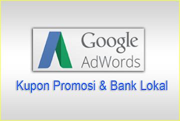 Adwords Google Kupon Promosi