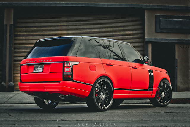 The Battle Of The Matte Red Range Rovers Ultimate Auto