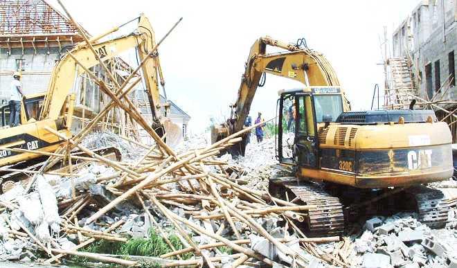 Collapsed Lekki 5 Storey Building Belongs to Lekki Gardens